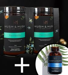 HUSH & HUSH SZUPERFOOD CSOMAG + TIME CAPSULE