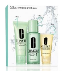 CLINIQUE 3 STEP SKIN TYPE 1 INTRO