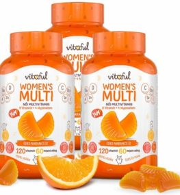 TRIOPACK VITAFUL  (3*120db) WOMEN'S MULTI NŐI MULTIVITAMIN GUMIVITAMIN